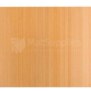 Bamboo Chair Mat No Cut-Out