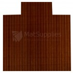 Bamboo Chair Mat - Cherry Cut-Out