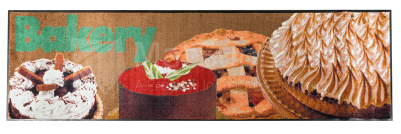 Realistic Message Mat - Bakery