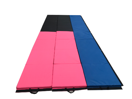 1 x Full Pink with 1 x Full Black with 2 x Single Blues added to Full