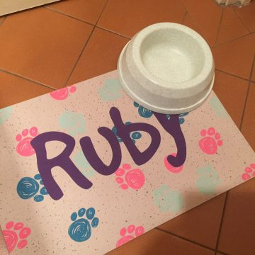 Custom Feeding Mat