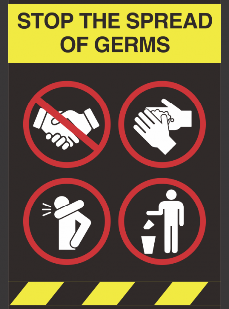 Stop the Spread of Germs TEMPLATE